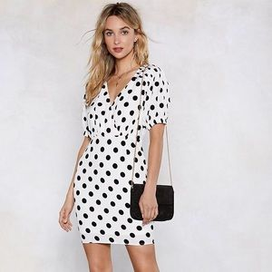 💥NEW💥 Nasty gal if you dot it polka dot dress